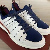 580 Bally Avary 07 Leather and Neoprene Sneakers Size Us 11.5 Made in Italy Photo