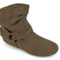 59 Rampage Bastille Women's Brown Ankle Boot Us10 Eu Photo
