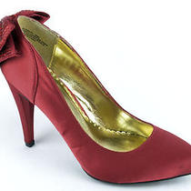 59 Rampage Normina Women's Red Pumps us9.5 Photo