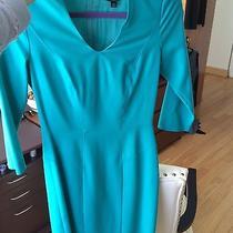 595 Hugo Boss Emerald Green Career Work Dress Xs 0 J Crew Theory  Photo