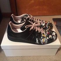 595 Maison Martin Margiela Paint Splatter Sneaker Photo