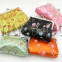 5pcs Jewelry Silk Bags Pouches Loose Change Purses T186a504 Photo