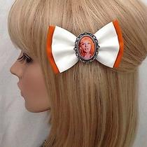 5th Element Leeloo Hair Bow Clip Rockabilly Pin Up Girl Geek Scifi Retro Vintage Photo