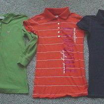 6 American Eagle & Aeropostale Polo Style Shirts Xs Photo