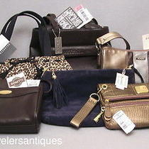 6 Great New W/ Tags Brand Name Hand Bags Photo