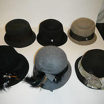 6 Hats - Womens Christys Crown Series Hat Lot Size One Size Photo