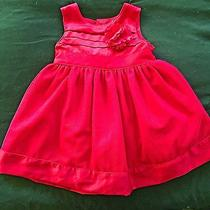 6 Month Babygirl Red Dress Photo