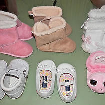 6 Pair Infant Girl Shoes Photo