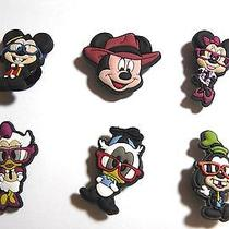 6 Pcs Mickey Mouse Shoe Charms for Crocs Jibbitz Photo