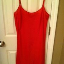 60 Dknyc Size S Red Nightie/lingerie Euc Photo