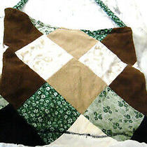60's Patchwork Boutique Hobo Boho Crossbody Bag Purse Patchwork Colorful Hippy Photo
