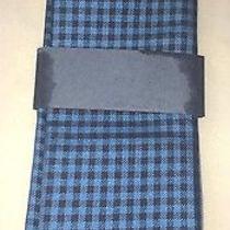 60 Tommy Hilfiger Handkerchief Blue Black Pocket Square Shirt Suit Dress Photo
