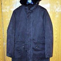 600 Berry & Brian Great 2 in 1 Parka Apc Acne Sz M Made in Italy Photo