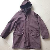 600 Berry & Brian Parka Brown Acne Apc Sz M Made in Italy Jacket  Photo