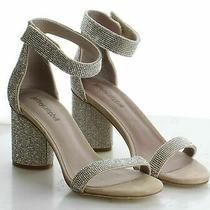 61-67 Msrp 159.95 Women's Size 7 Jeffrey Campbell Laura Ankle Strap Heel Sandal Photo