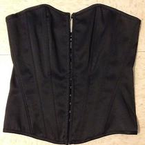 62     Charlotte Russe Large Corset Black Poly Photo