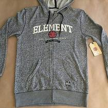 64 Element Men's Zip Up Hoodie Grey Heater Size M Photo