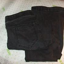 64 Forever 21 Stretch Size 28/32 Black Skinny Bootcut Jeans Pants  Photo