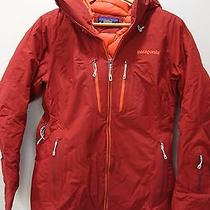 649 New Patagonia w's Primo Down Jacket Parka Size Small Red Photo