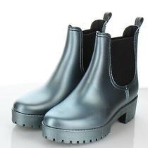 65-41 New 65 Womens Sz 7 M Jeffrey Campbell Cloudy Waterproof Chelsea Rain Boot Photo