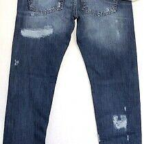 65% Off P. Balmain Distressed Regular Fit Jeans It50 W34-36 L34 Photo