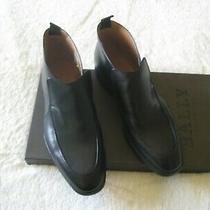650 New Authentic Bally Nebik  Leather Men's Ankle Boots Sz 40.5 Us 7.5 Uk 6.5 Photo