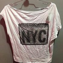 69 Nwt Chaser Brand Fender Nyc Graphic Solid White Tee Size S Photo