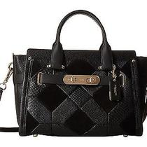 695 Nwt Coach 36004 Exotic Patchwork Large Swagger Carryall  Gift Rec't Incl. Photo