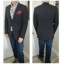 695 Nwt Theory Barneys Summer Modern Slim Blue Blazer Jacket Mens 38 40 50  Photo