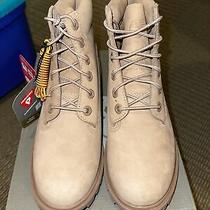 6in Timberland Waterproof Boots Size 4 Tan/sand Color Photo