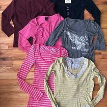 6ps Hollister/gap/armaniexchange/old Navy Womens 2000 Stylish Shirts Size Xs Photo