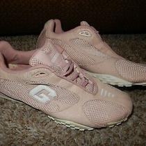 7.5 Guess Sport Pink Feather Weight Walking Running Shoes Women's Photo