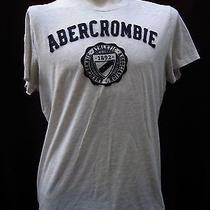 7 Abercromie & Fitch Men T-Shirt Size Xl Gray Color Photo