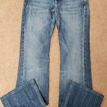 7 for All Mankind Bootcut Straight Flynt Jeans Sz 26  Photo