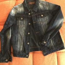 7 for All Mankind Boys Denim Jacket Size L Photo