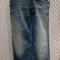 7 for All Mankind Crop Dojo Woman's Jeans Size 27 New Like Condition Nice Photo