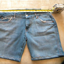 7 for All Mankind Jean Short Sz 28 Photo