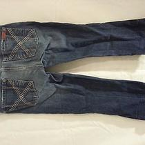 7 for All Mankind Jeans Size 27 28x21 Capri Cropped Denim Photo
