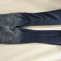 7 for All Mankind Jeans Size 27 28x28 Boot Denim  Photo