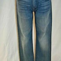 7 for All Mankind Jeans Standard Size 30 Distressed Blue Jeans Photo