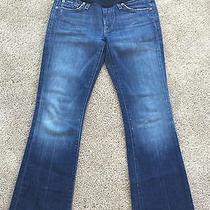 7 for All Mankind Maternity Jeans 27x28 Photo