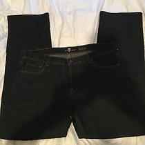 7 for All Mankind Mens Austyn Slim Fit  Denim Jeans  Size 38 X 33 Usa Photo