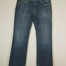 7 for All Mankind Mens Bootcut Jeans Blue Denim Size 34 Photo