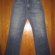 7 for All Mankind Mens Medium Wash Bootcut Jeans Size 32 Photo