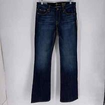 7 for All Mankind Size 29 Kimmie Bootcut Dark Wash Jeans Nwt Blue Photo