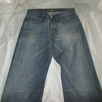 7 for All Mankind Women's Blue Denim Jeans Sz 31 Photo