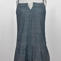 7 for All Mankind Womens Casual Streched Denim Romper Small Photo