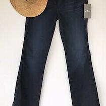 7 for All Mankind Womens Kimmie Night Star Bootcut Blue Denim Jeans Size 29 Nwt Photo