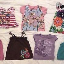 ( 7 ) Girl's 3t Shirts / Tops Lot Disney Carters Old Navy Others Only 2.00 Each Photo