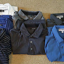 7 Men's Small Polo Shirts - Express and Apt 9 Photo